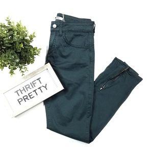 Liu Jo Jeans Skinny Zipper Ankle Pants